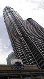 Torre gemella di Petronas con il centro commerciale del klcc di suria Immagini Stock