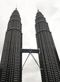 Torre gemella Kuala Lumpur di Petronas Fotografia Stock