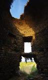 Torre genoese vieja en la isla de Córcega Imagen de archivo