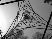 Torre geologica Fotografia Stock Libera da Diritti