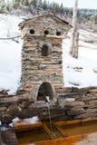 Torre georgiana - fonte d'acqua Immagini Stock Libere da Diritti