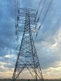 Torre gigante elétrica Fotografia de Stock Royalty Free