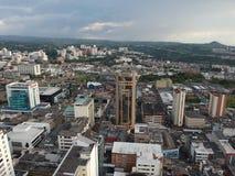 A torre grande cujo o nome é Diario o Otun fotografia de stock royalty free