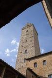 Torre Grossa Tower; San Gimignano; Tuscany Royalty Free Stock Photography