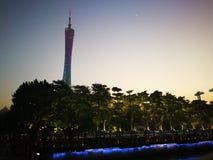 Torre Guangzhou del cantón imagen de archivo libre de regalías