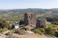 Torre helenística Troya Turquía Foto de archivo libre de regalías