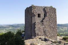 Torre helenística Troya Turquía Fotografía de archivo