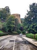torre histórica de la fortaleza Fotos de archivo libres de regalías