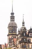 Torre histórica em Dresden Imagem de Stock Royalty Free
