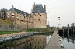 Torre holandesa e frontão pisado Foto de Stock Royalty Free