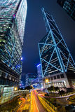 Torre Hong Kong del Banco de China fotografía de archivo
