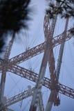 A torre icónica de San Francisco Sutro sobe acima da skyline, 5 Fotografia de Stock Royalty Free