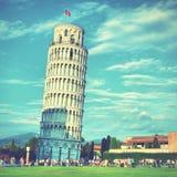 Torre inclinada fotografía de archivo libre de regalías