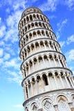 Torre inclinada fotos de archivo