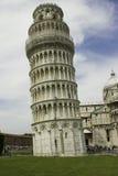 A torre inclinada de Pisa fotografia de stock royalty free