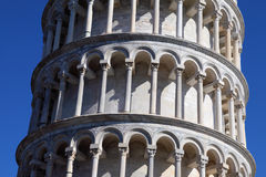 Torre inclinada de Pisa Imagen de archivo libre de regalías