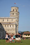 A torre inclinada de Pisa Fotografia de Stock Royalty Free