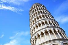 Torre inclinada de Pisa imágenes de archivo libres de regalías