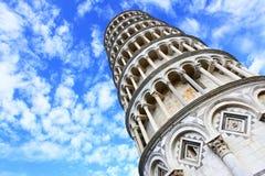Torre inclinada de Pisa Imagenes de archivo