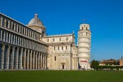 Torre inclinada de Pisa Foto de Stock Royalty Free