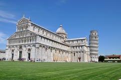 Torre inclinada de Pisa Foto de archivo