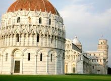 Torre inclinada de Pisa em Italy Fotos de Stock Royalty Free