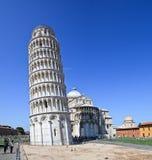 Torre inclinada de Pisa (Italia) Fotos de archivo