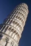 A torre inclinada de Pisa, Italia Imagem de Stock