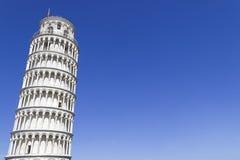 Torre inclinada de Pisa, Italia Fotografía de archivo