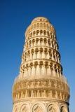 A torre inclinada de Pisa, Italy Imagem de Stock Royalty Free