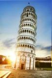 Torre inclinada de Pisa, Italy Imagens de Stock