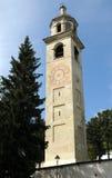 Torre inclinada de St. Moritz Imagen de archivo
