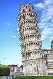 Torre inclinada en Pisa imagen de archivo libre de regalías