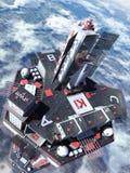 Torre inflável Fotografia de Stock Royalty Free