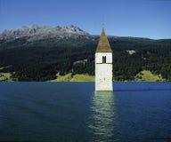 Torre inundada Imágenes de archivo libres de regalías