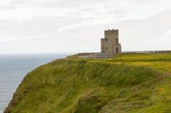 Torre irlandesa medieval Foto de archivo libre de regalías