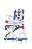 Torre isolada do Lifeguard imagem de stock royalty free