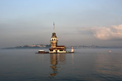 Torre Istambul Turquia da donzela Foto de Stock Royalty Free