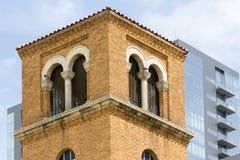 Torre italiana do projeto em Austin Texas foto de stock