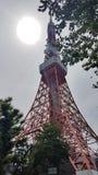 Torre Japão de Tokyo Fotografia de Stock