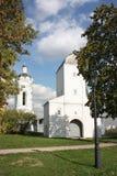 Torre la torre de agua y de la alarma de Georgievskaya. Fotografía de archivo