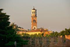 Torre Lamberti Photos libres de droits