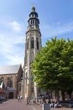 Torre Lange gennaio di Norbertine Abbey, Middelburg fotografie stock