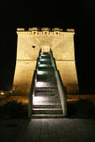 Torre lapillo by night Royalty Free Stock Photos