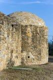 Torre lateral na missão San Jose em San Antonio, Texas Imagens de Stock Royalty Free