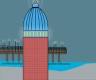 Torre ligera Imagenes de archivo