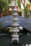 Torre ligera china Imágenes de archivo libres de regalías