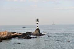 Torre ligera del dongshandao chino Fotos de archivo libres de regalías