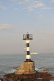 Torre ligera del dongshandao chino del zhangzhou Foto de archivo libre de regalías
