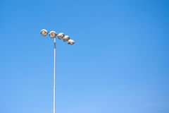 Torre ligera del punto Fotografía de archivo